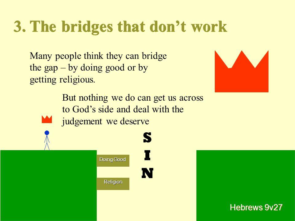 3. The bridges that don't work