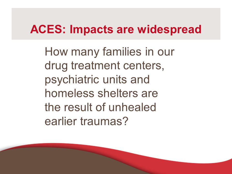 ACES: Impacts are widespread