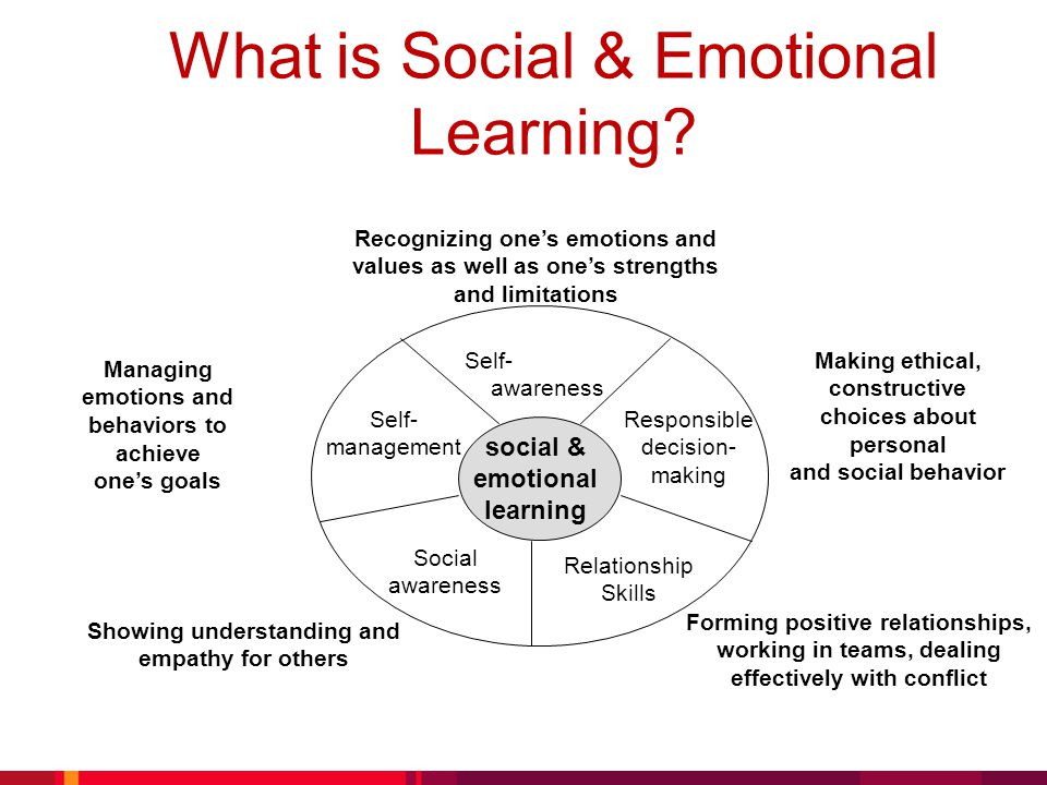 What is Social & Emotional Learning