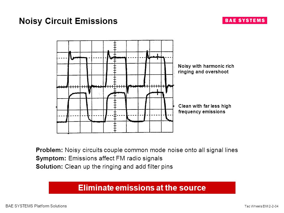 Eliminate emissions at the source