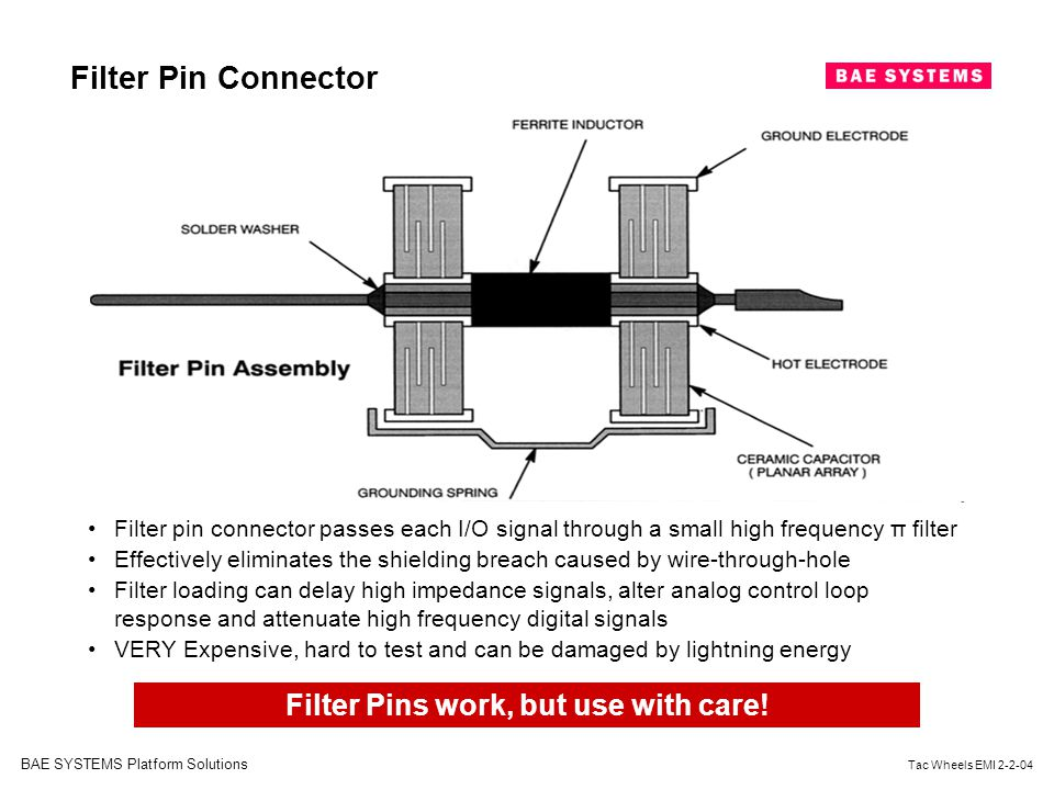 Filter Pins work, but use with care!