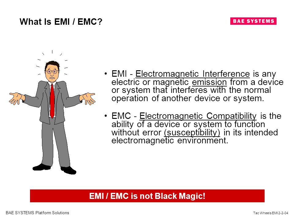 EMI / EMC is not Black Magic!