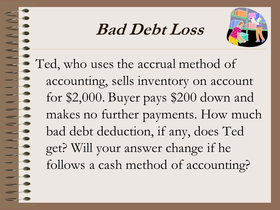 Bad Debt Loss