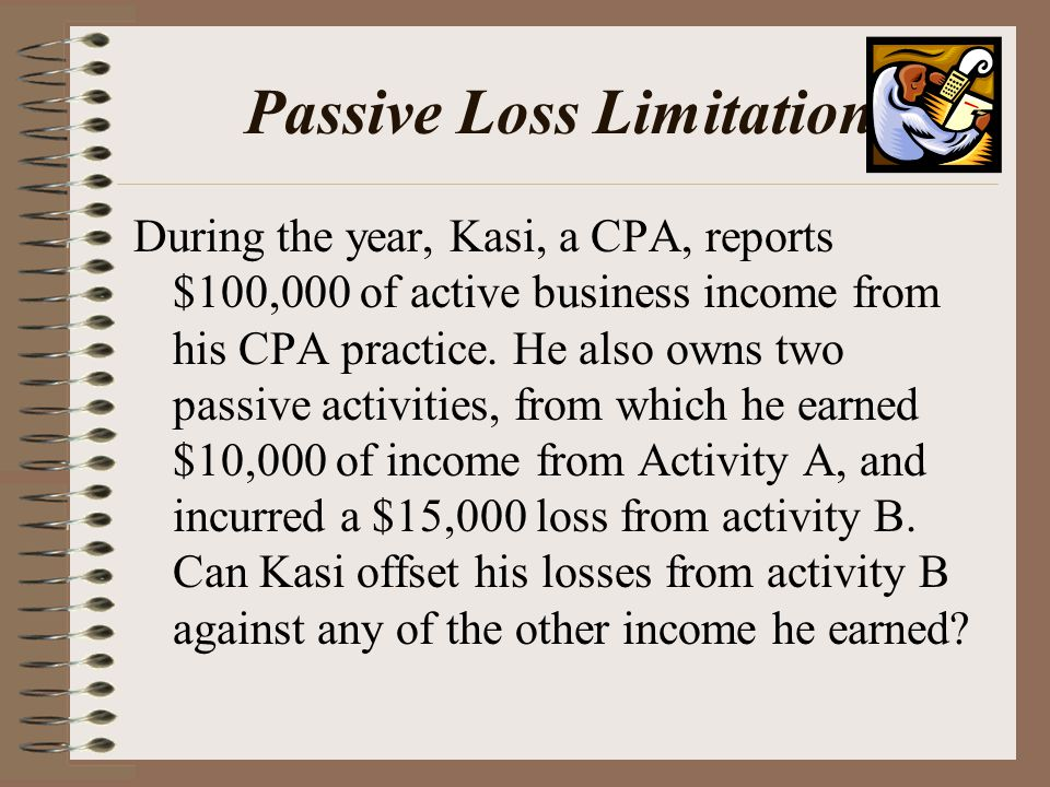 Passive Loss Limitation