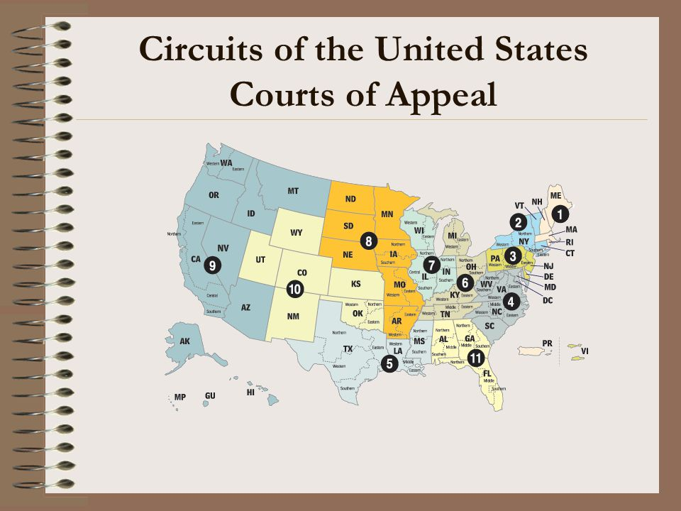 Circuits of the United States Courts of Appeal