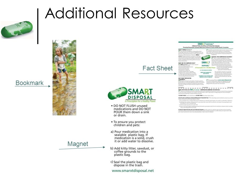 Additional Resources Fact Sheet Bookmark Magnet