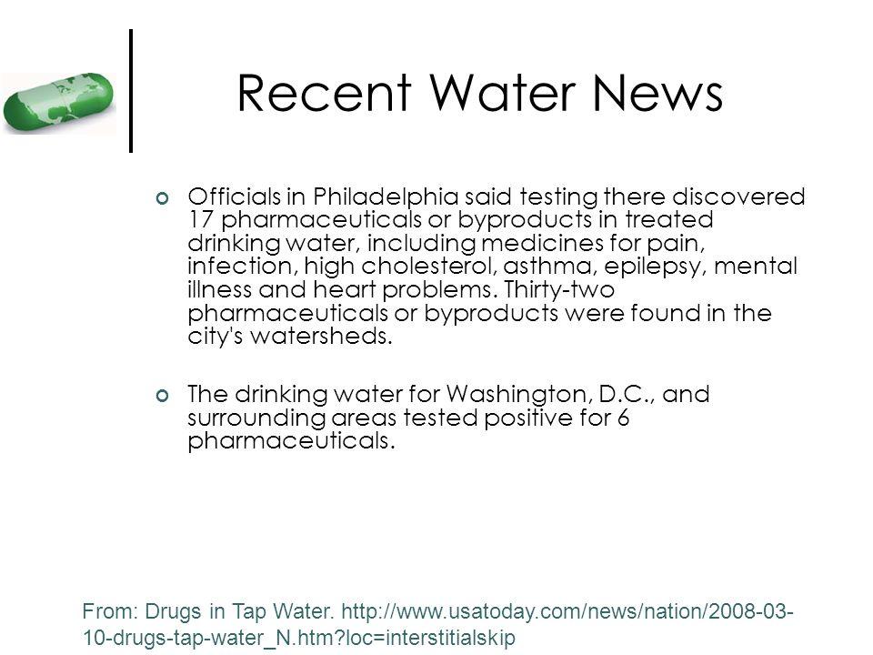 Recent Water News