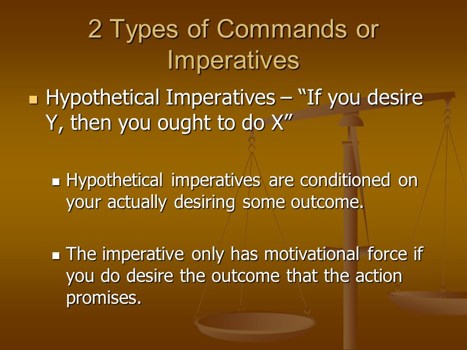 2 Types of Commands or Imperatives