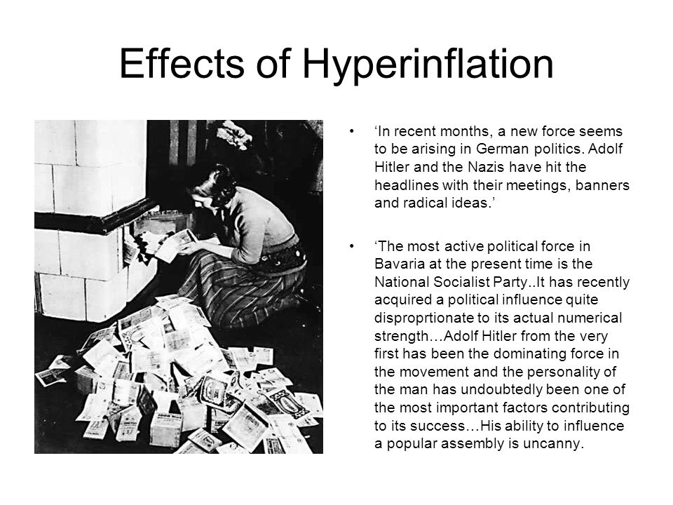 Effects of Hyperinflation