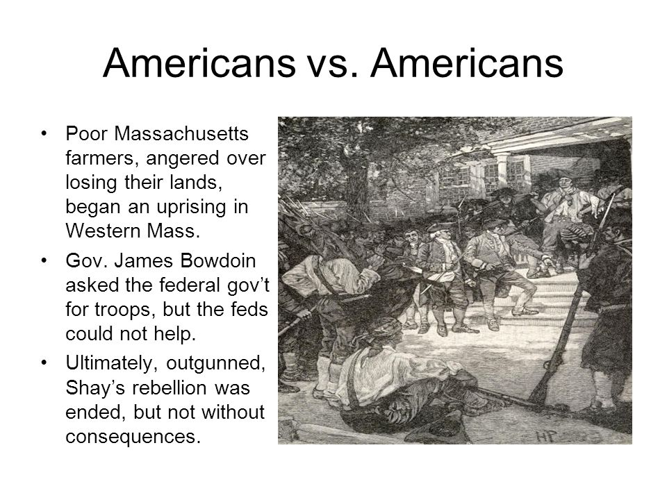 Americans vs. Americans