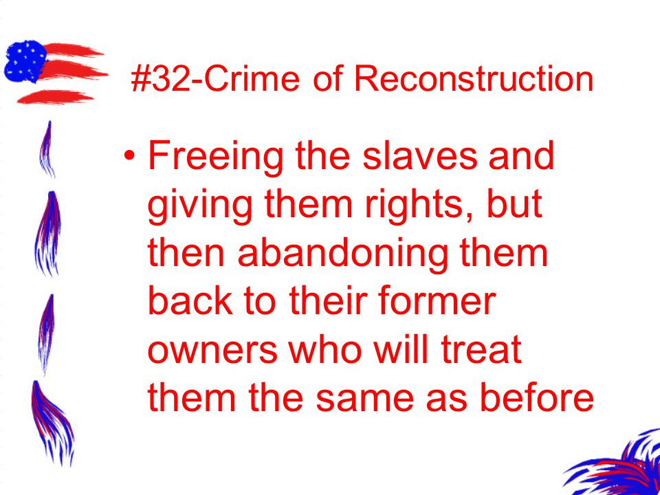 #32-Crime of Reconstruction