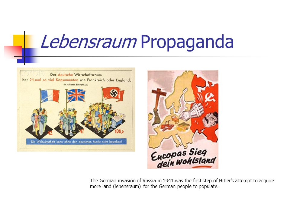 Lebensraum Propaganda