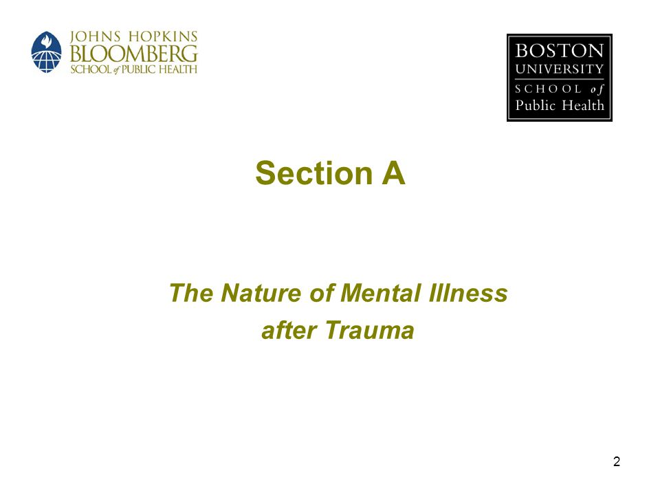 The Nature of Mental Illness