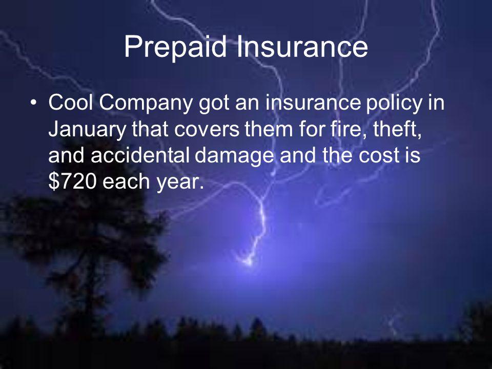 Prepaid Insurance