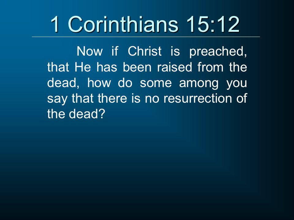 1 Corinthians 15:12
