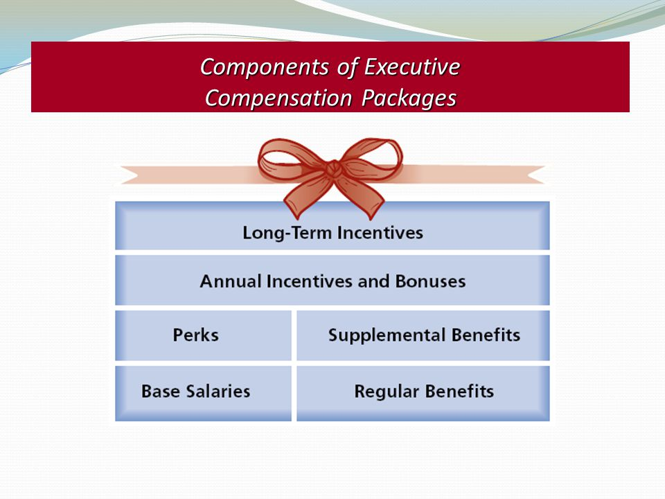 Components of Executive Compensation Packages