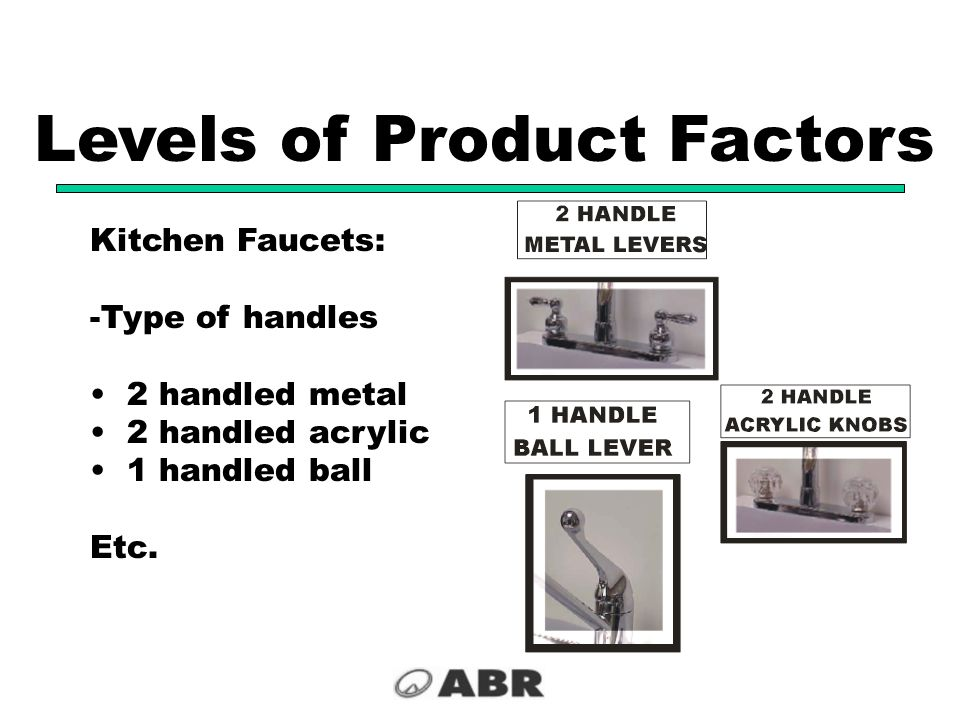 Levels of Product Factors