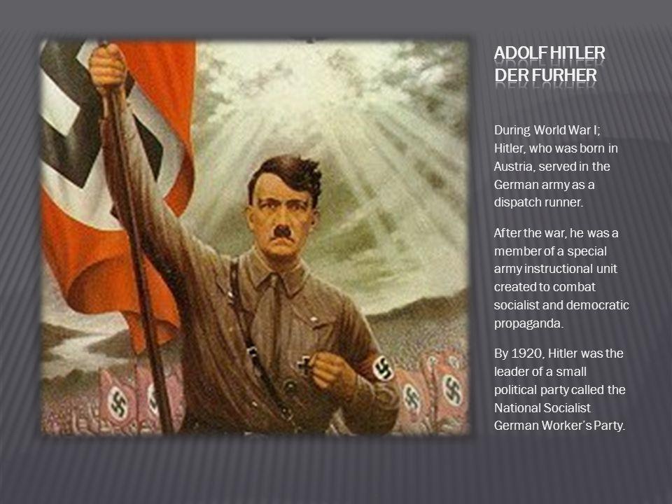 Adolf Hitler Der Furher