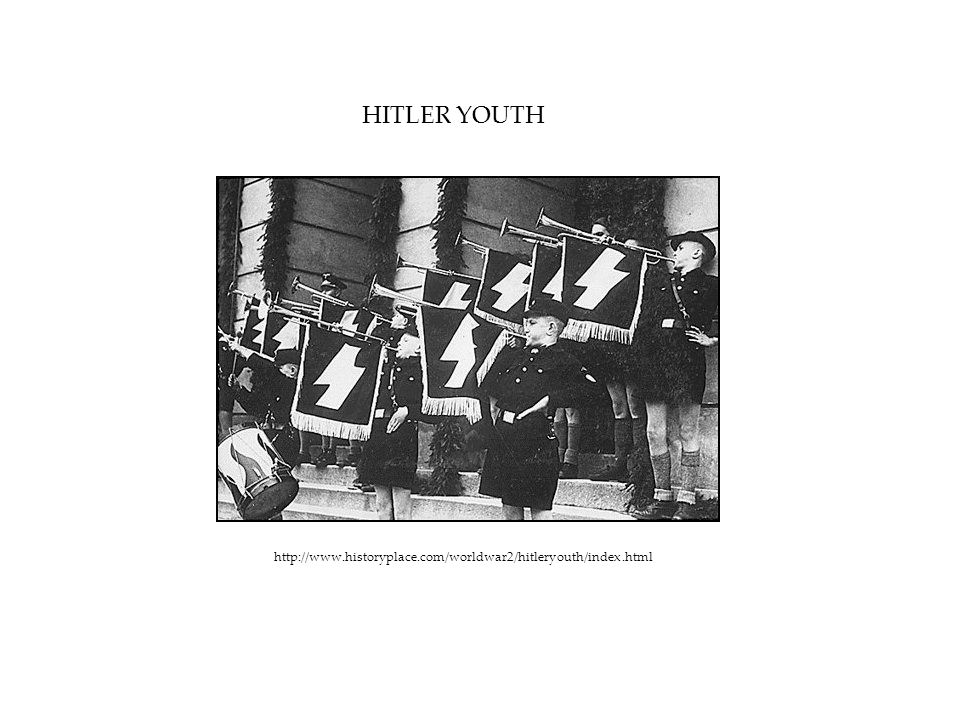 HITLER YOUTH http://www.historyplace.com/worldwar2/hitleryouth/index.html