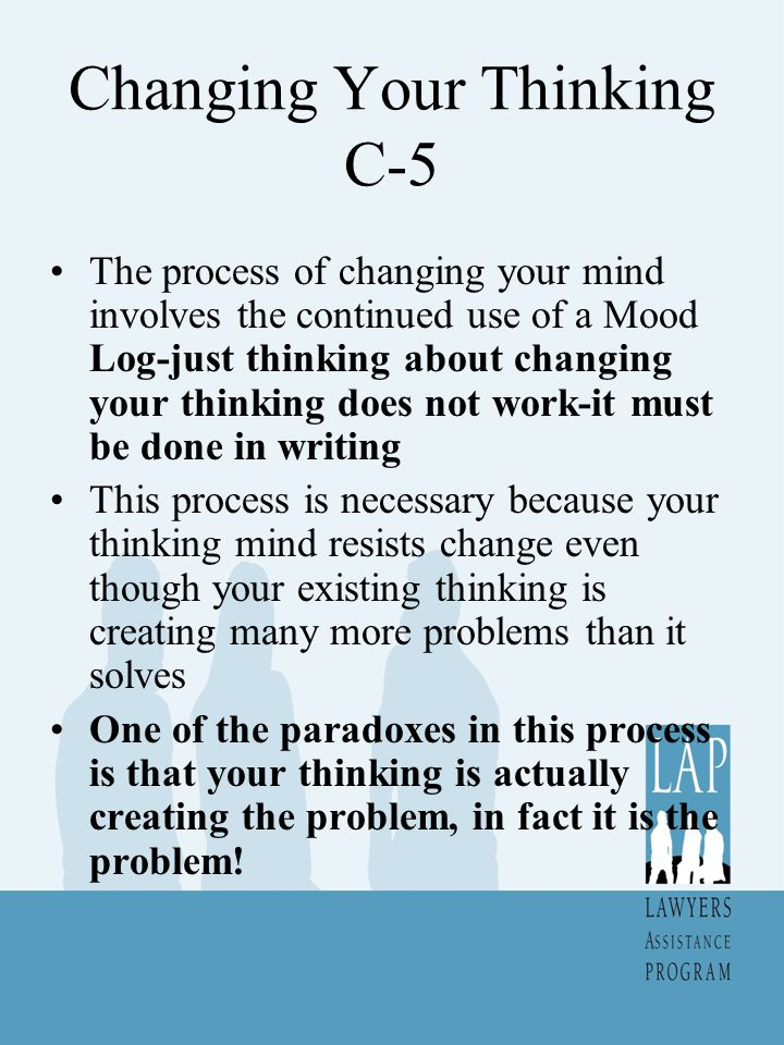 Changing Your Thinking C-5