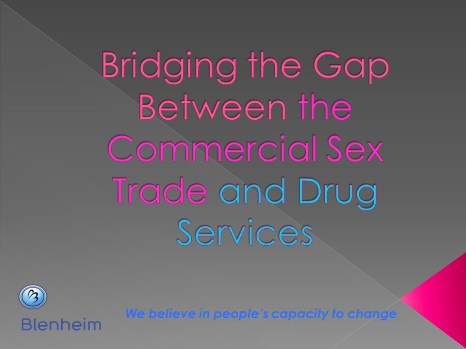 Bridging the Gap Between the Commercial Sex Trade and Drug Services