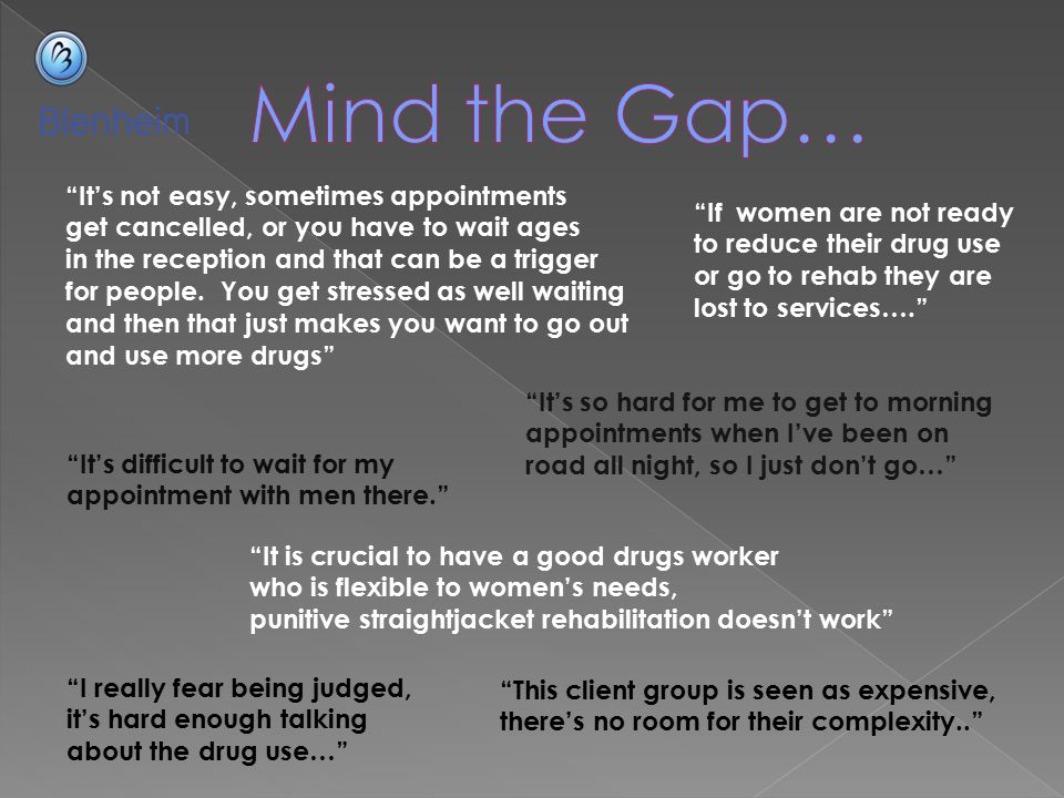 Mind the Gap… It's not easy, sometimes appointments