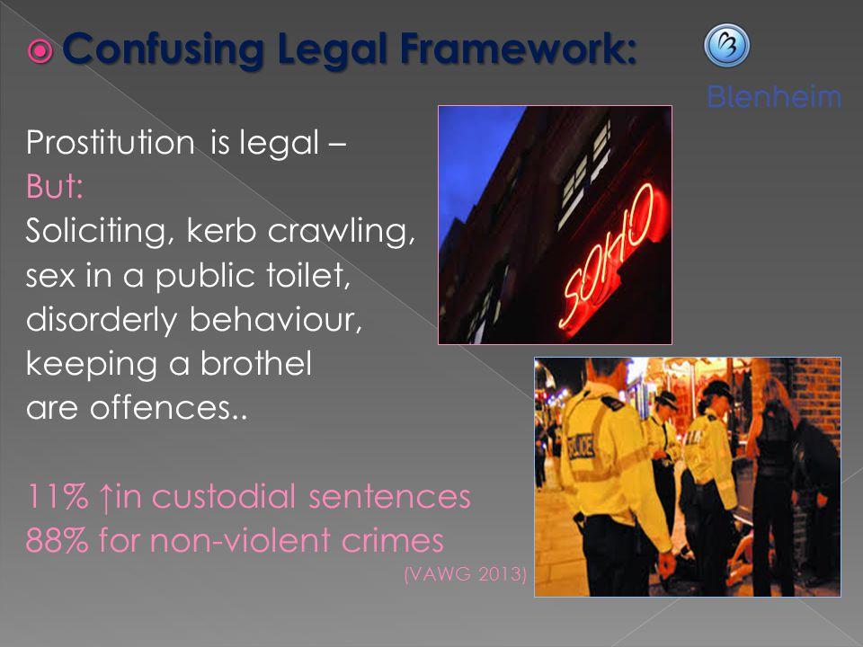 Confusing Legal Framework: