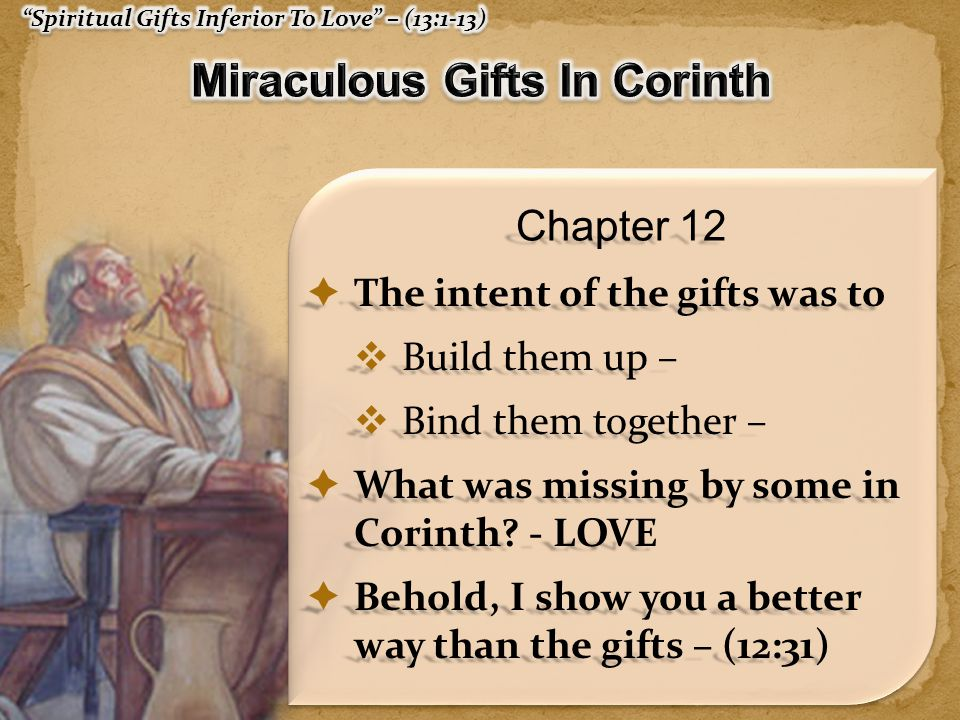 Miraculous Gifts In Corinth