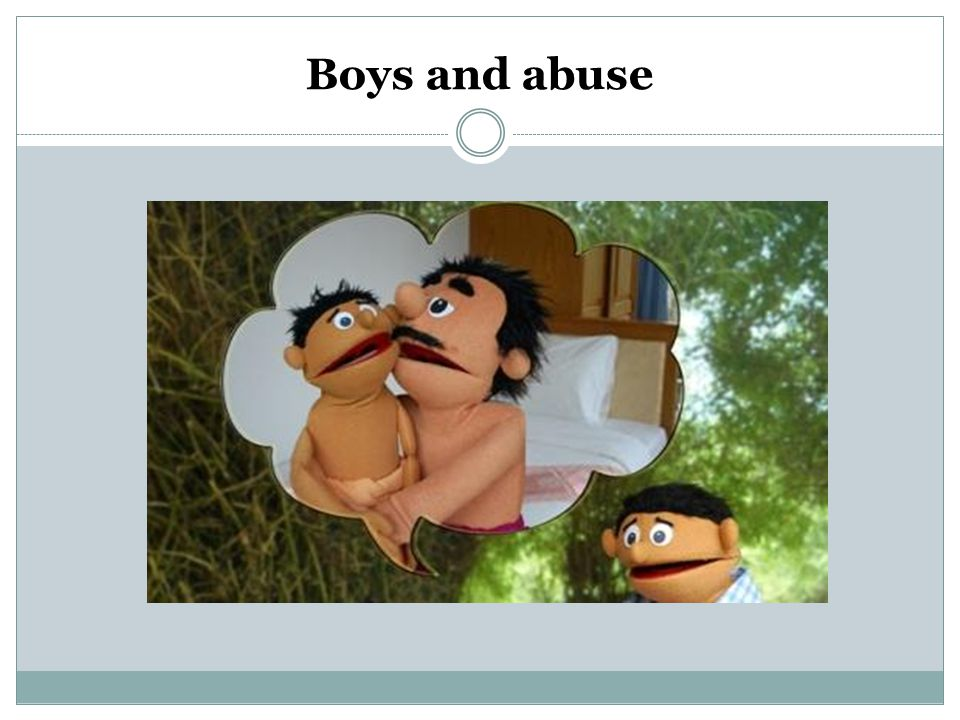Boys and abuse