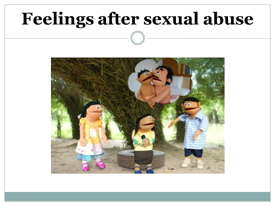 Feelings after sexual abuse