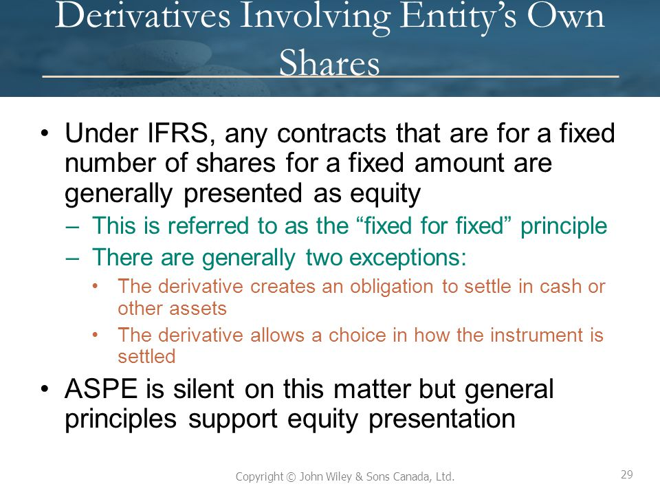 comparison of aspe for ifrs High-level comparison of accounting standards for private enterprises (aspe) and international financial reporting standards (ifrs), covering significant recognition and measurement differences only.