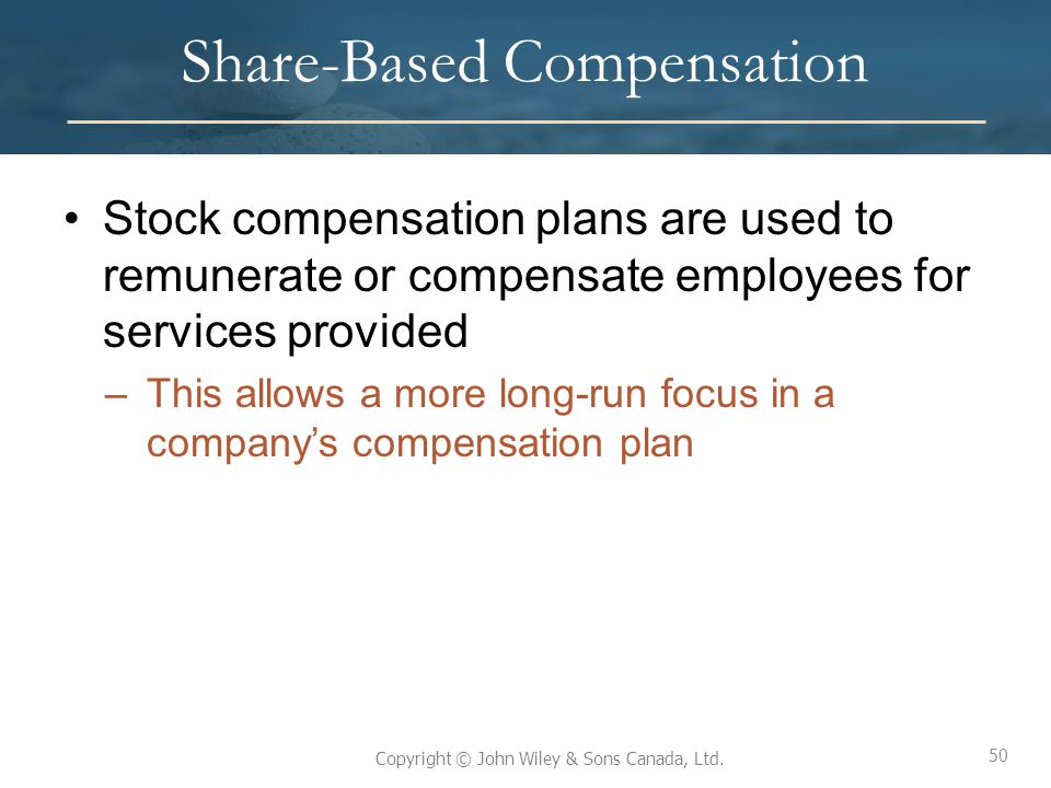 Share-Based Compensation