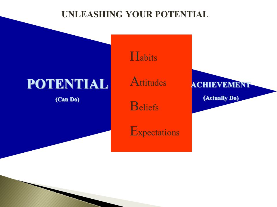 UNLEASHING YOUR POTENTIAL