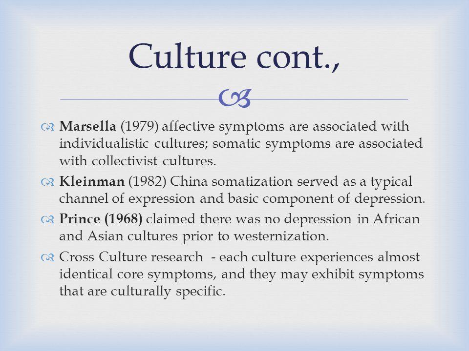 Culture cont.,