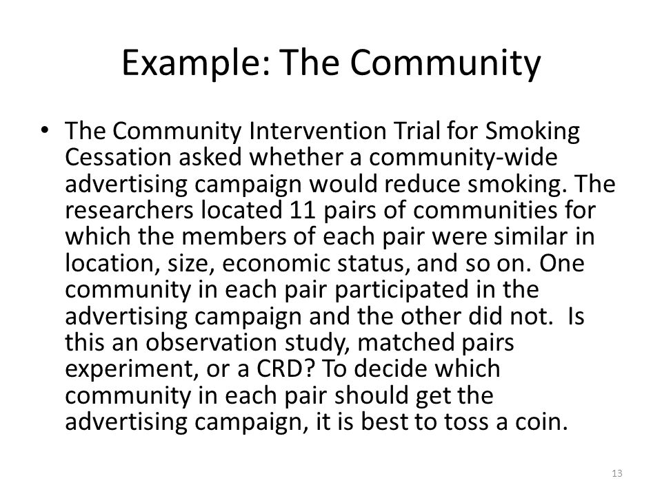 Example: The Community