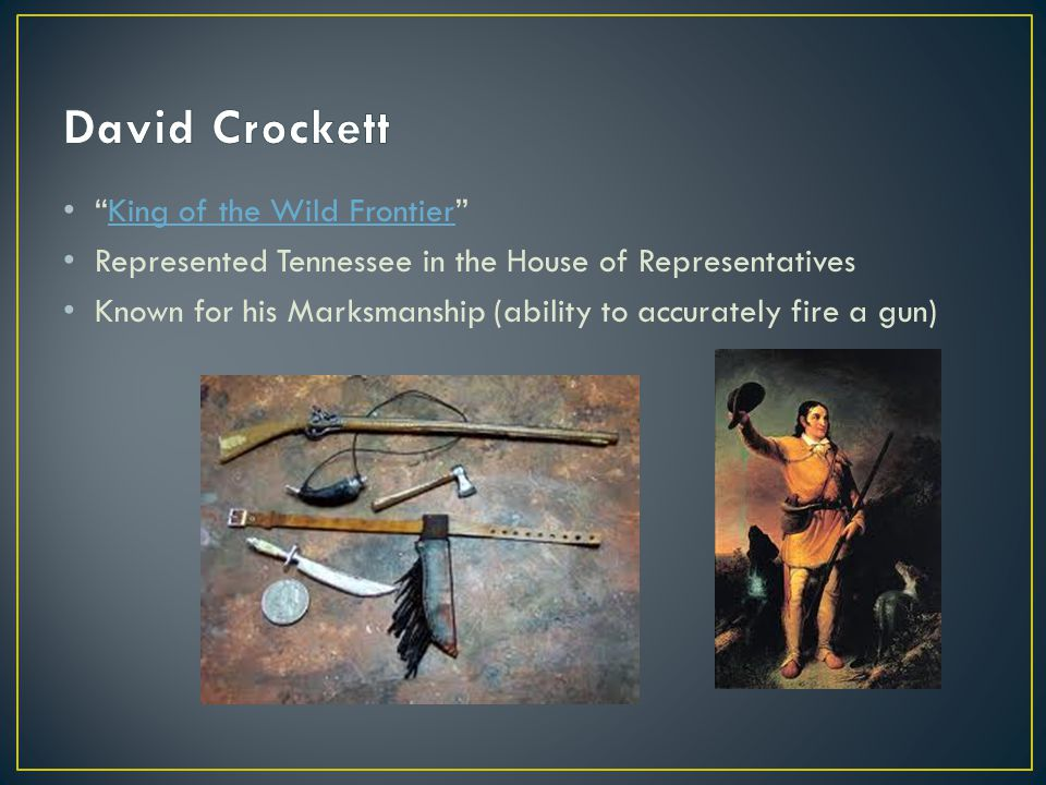 David Crockett King of the Wild Frontier