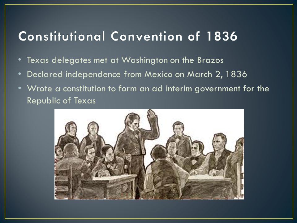 Constitutional Convention of 1836