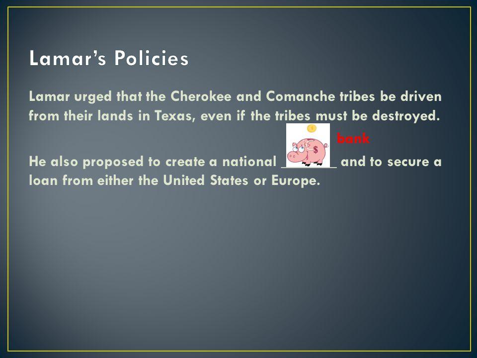 Lamar's Policies