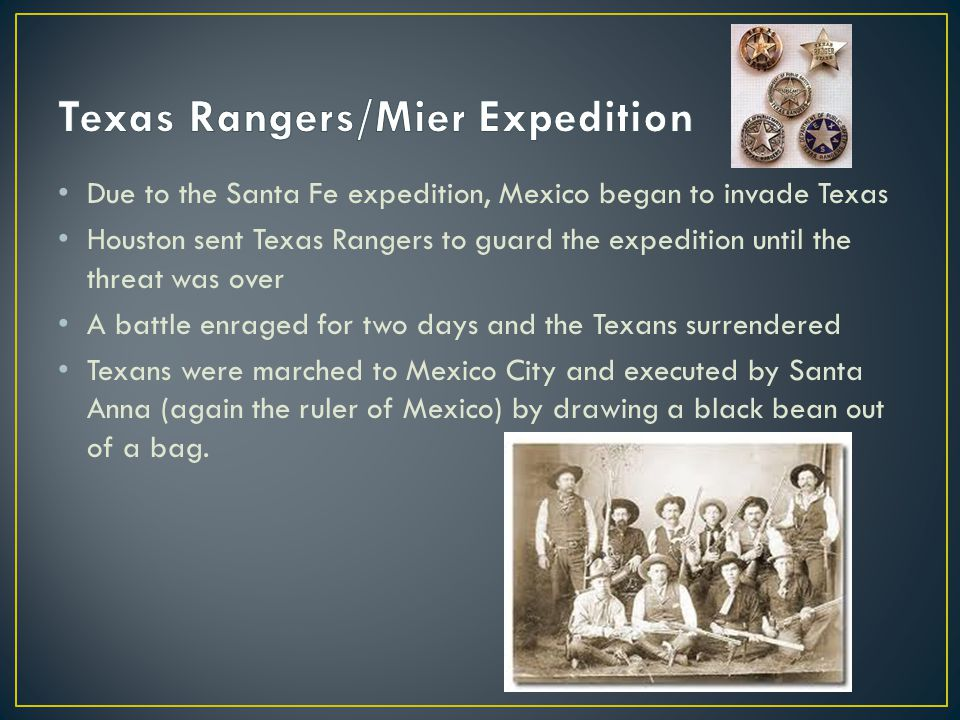 Texas Rangers/Mier Expedition