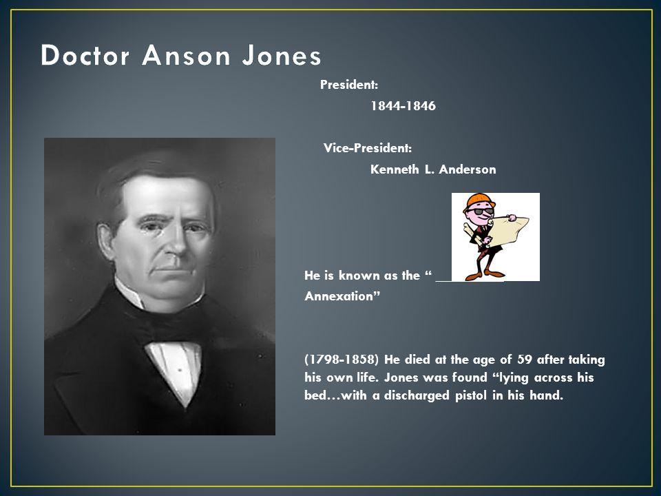 Doctor Anson Jones