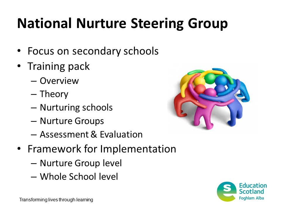 National Nurture Steering Group
