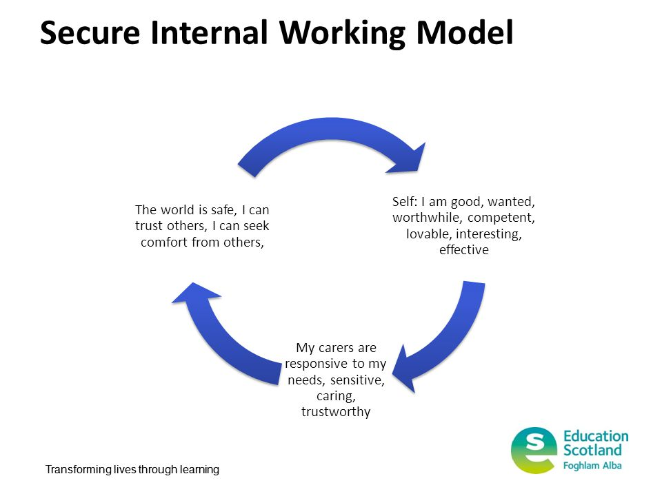 Secure Internal Working Model