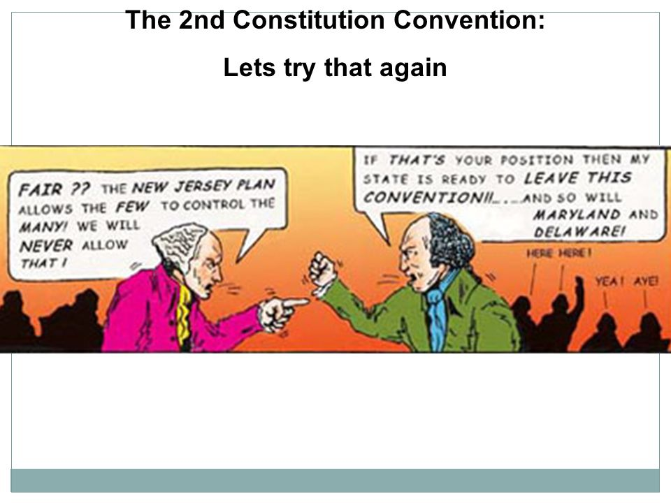 The 2nd Constitution Convention: