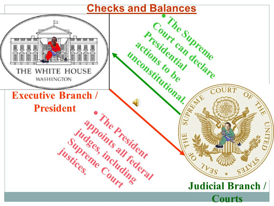 Executive Branch / President Judicial Branch / Courts