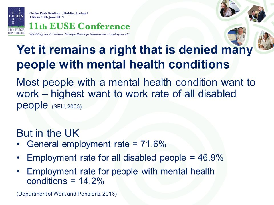 Yet it remains a right that is denied many people with mental health conditions