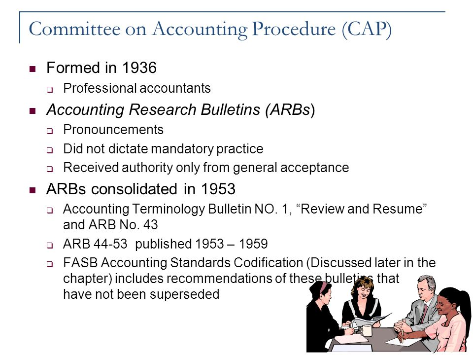 Committee on Accounting Procedure (CAP)