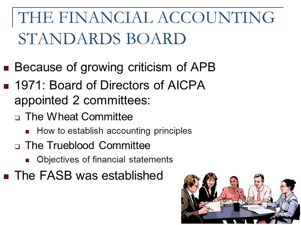 THE FINANCIAL ACCOUNTING STANDARDS BOARD