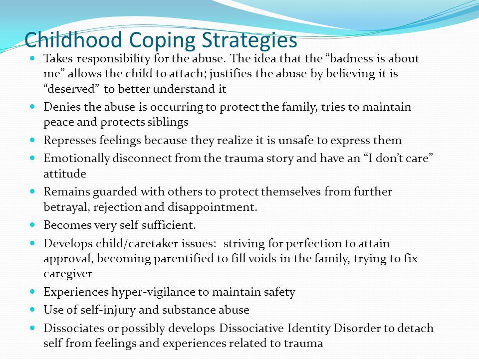 Childhood Coping Strategies