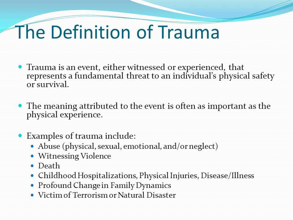 WE ENVISION A WORLD THRIVING BEYOND TRAUMA