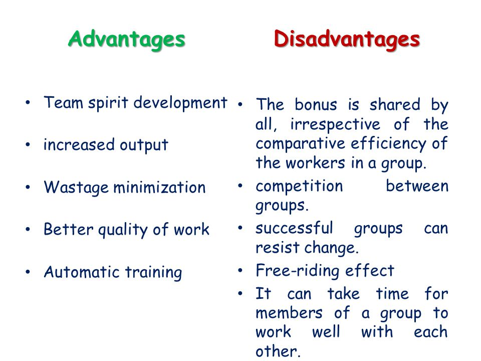 Benefits cooperation essay
